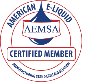 ECBlend - Certified Member of the American E-Liquid Manufacturing Standards Association AEMSA