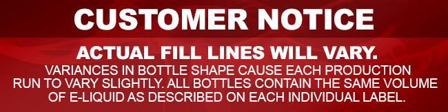 ECBlend ELiquid Bottle Fill Lines Notice