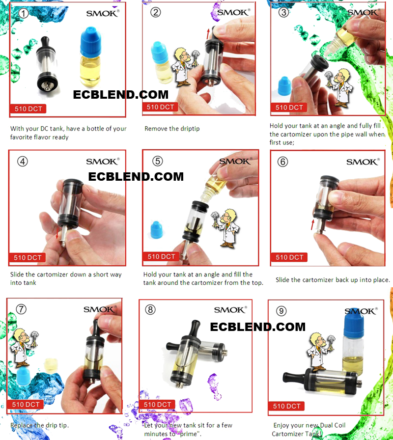 Tank Dual Coil Filling Instructions at ECBlend