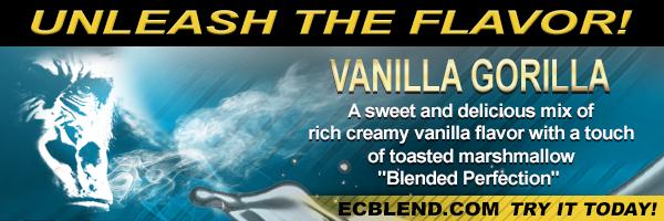 Vanilla Gorilla E-Liquid at ECBlend Flavors