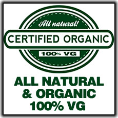ECBlend All Natural and Organic Flavors Premium Blend E-Liquid