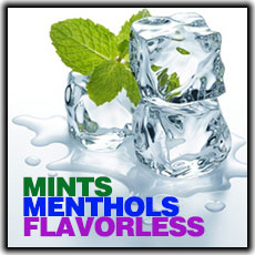 ECBlend Mints-Menthols-Flavorless Premium Blend E-Liquid